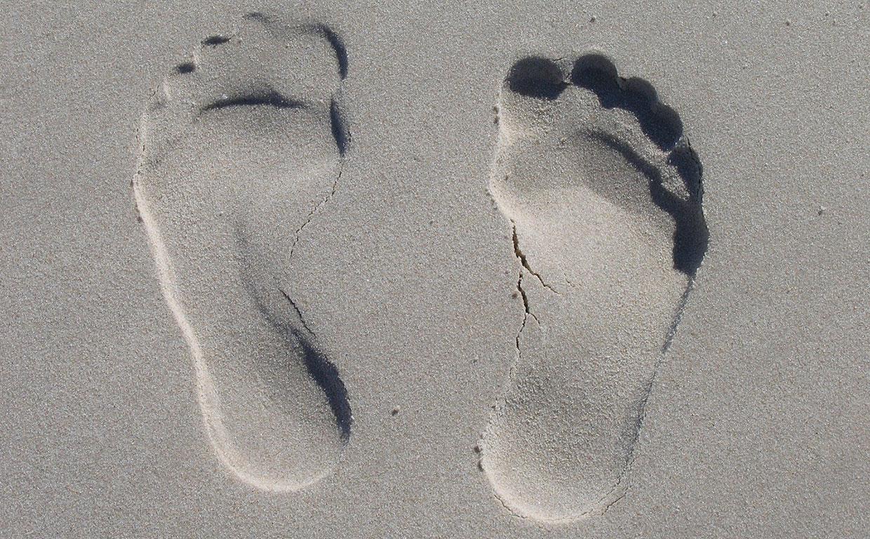 El cuidado de los pies para caminar